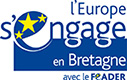 Logo l'Europe s'engage en Bretagne